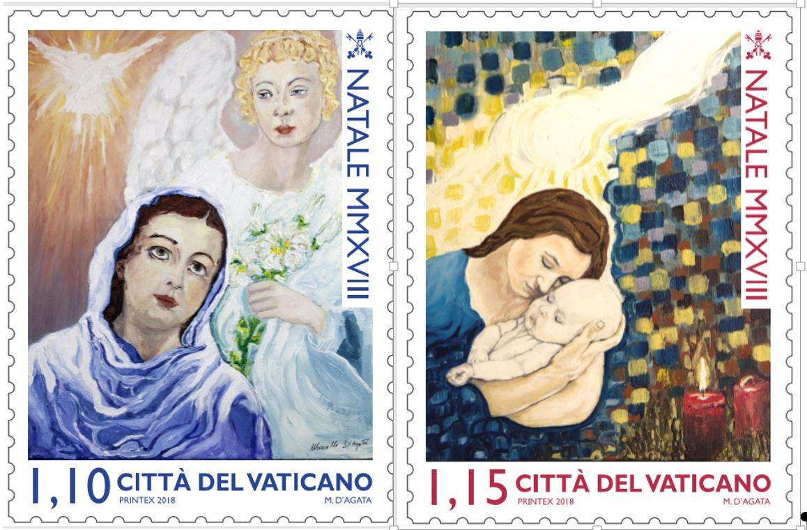 Timbres de Marcelo D'Agata @ Vatican Media
