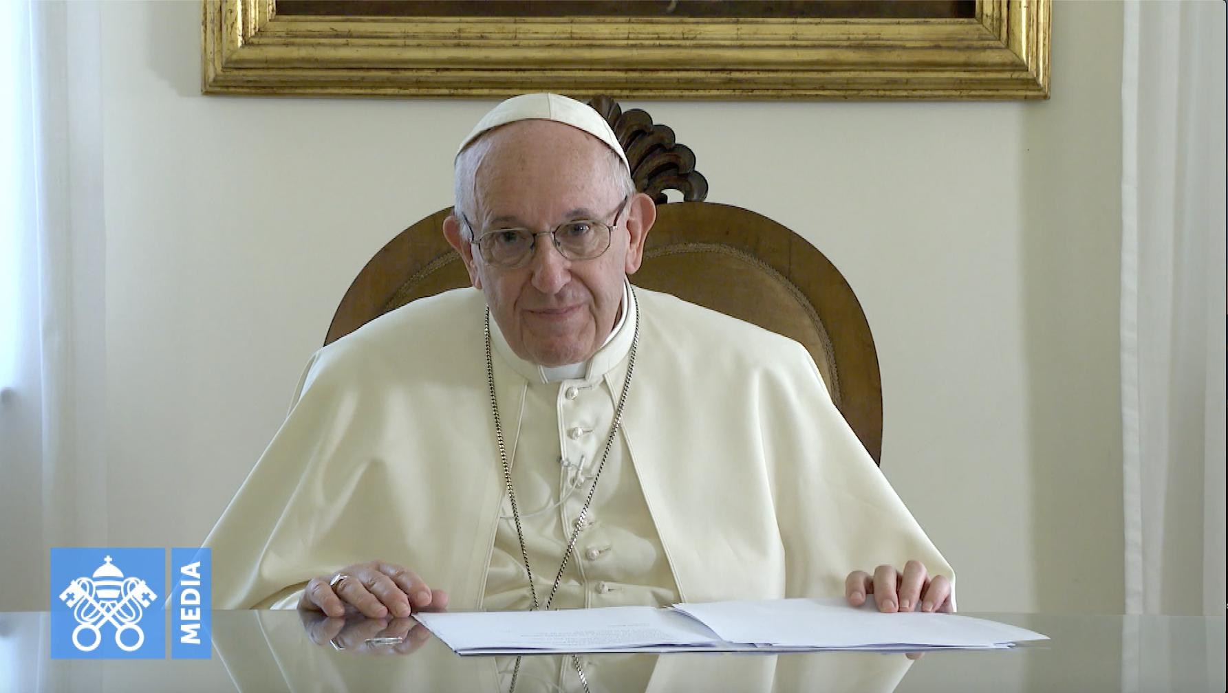 Message vidéo, 1er nov. 2018 @ Vatican Media