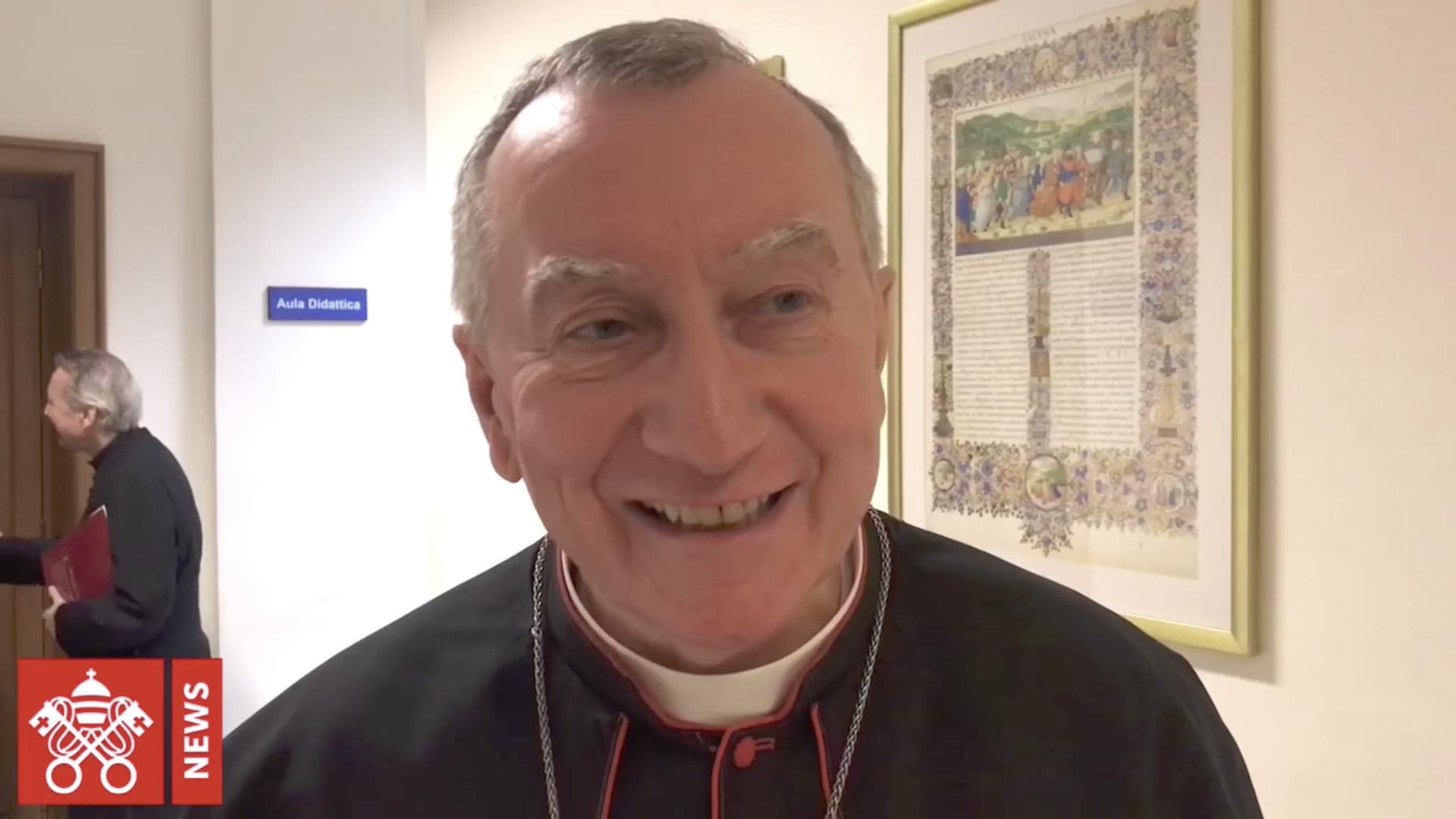 Card. Parolin @ Vatican Media