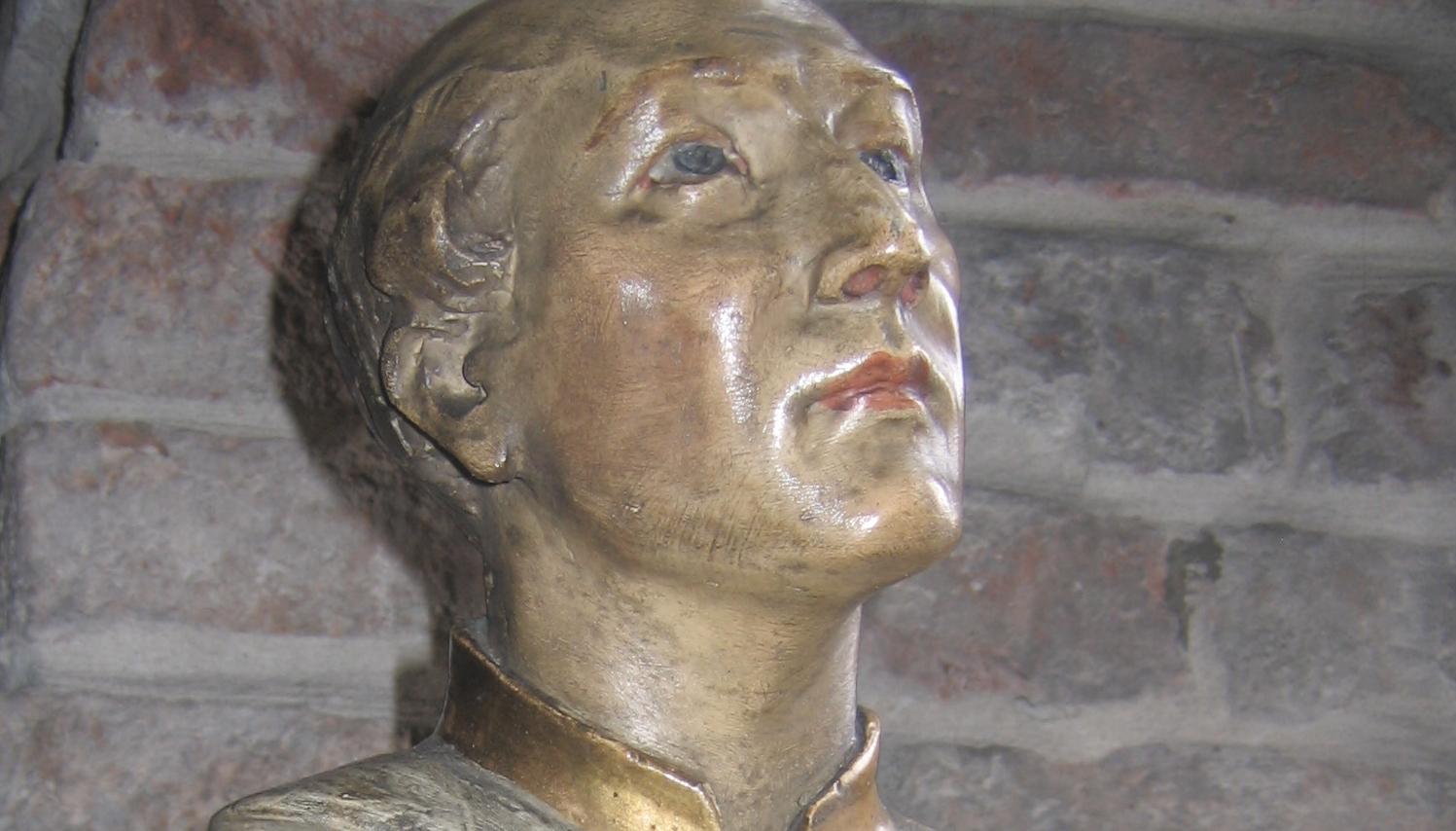 Statue du bx Michal à Cracovie Pologne) @ Eglise Saint-Marc