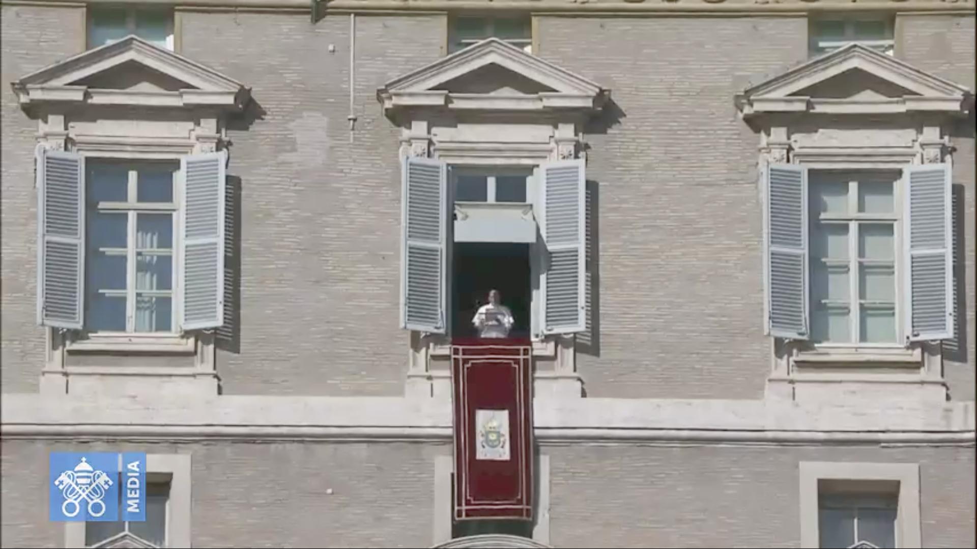 Angélus 18 nov. 2018 @ Vatican Media