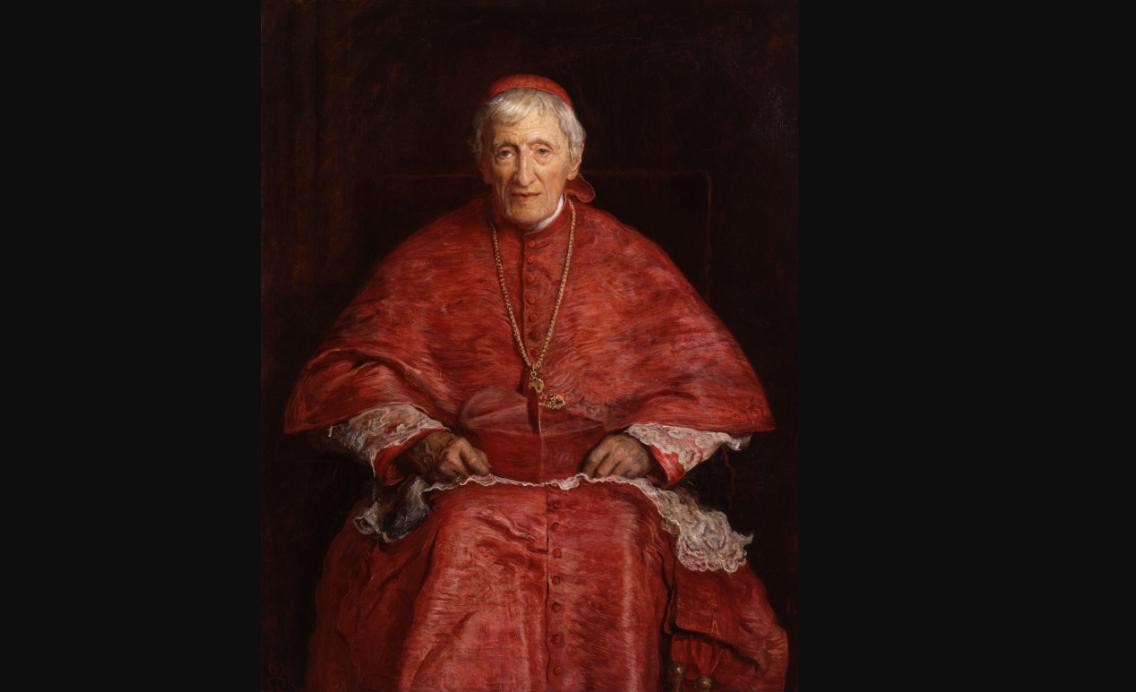 Cardinal Newman © Wikimedia commons / John Everett Millais [Public domain]