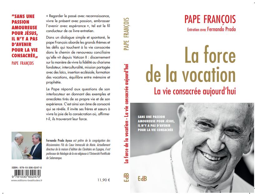 Couverture du livre entretien avec le pape @ EdB