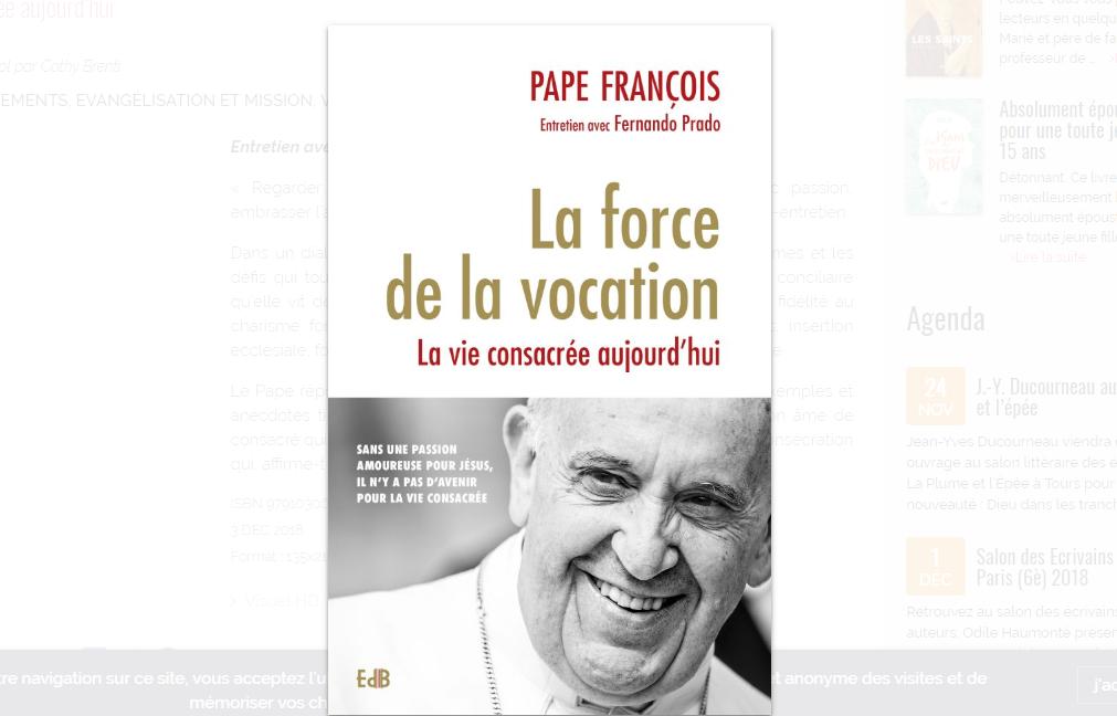 """""""La Force de la vocation"""" @ EdB"""