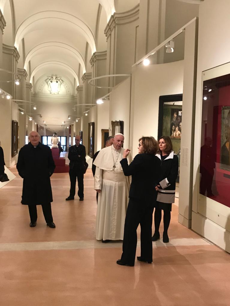 Exposition d'Art russe, 27 nov. 2018 © Vatican Media
