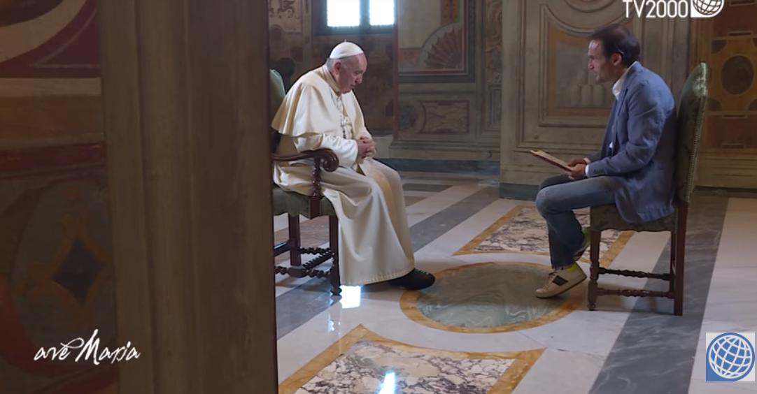 Emission Ave Maria du 6 novembre 2018, capture TV2000