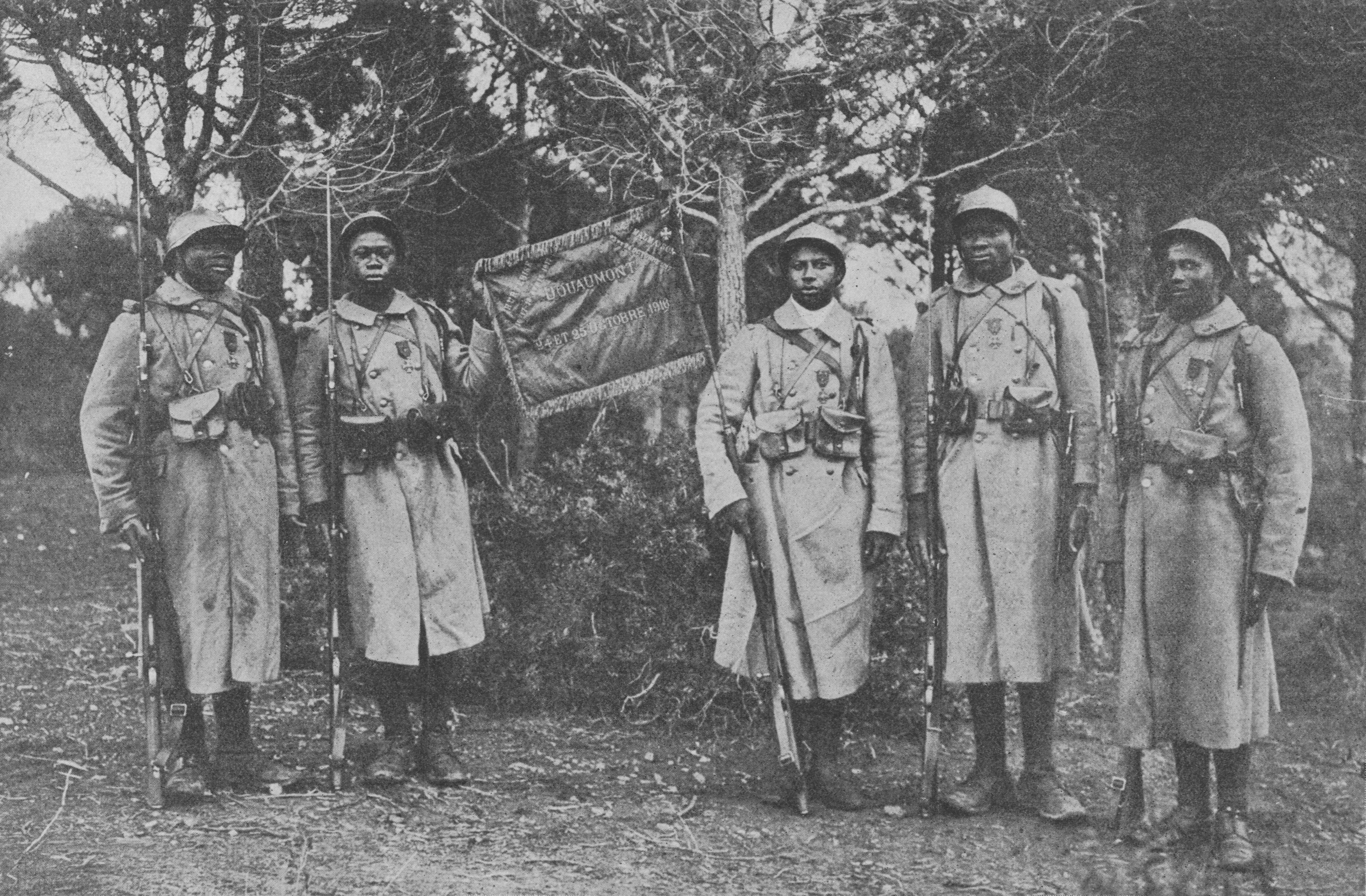 43e bataillon de tirailleurs sénégalais @ wikimedia commons