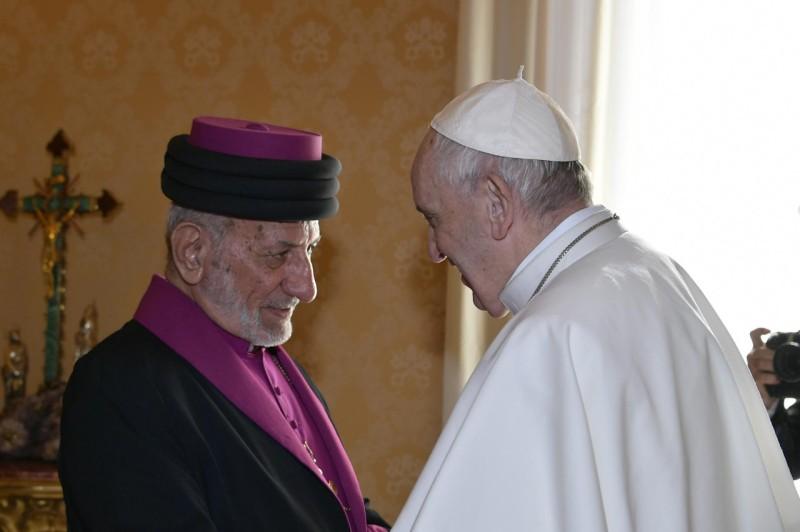 Mar Gewargis III, catholicos patriarche de l'Église assyrienne de l'Orient © Vatican Media