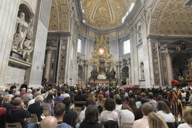 Messe pour les cardinaux et évêques décédés dans l'année, 3 nov 2018 © Vatican Media