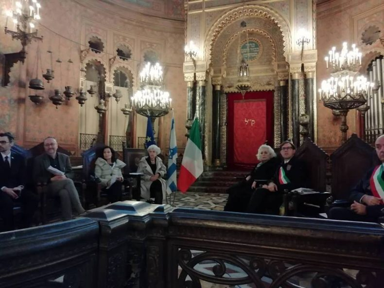 Cérémonie à Florence, 26 novembre 2018 @ Moked.it / Mika Caro