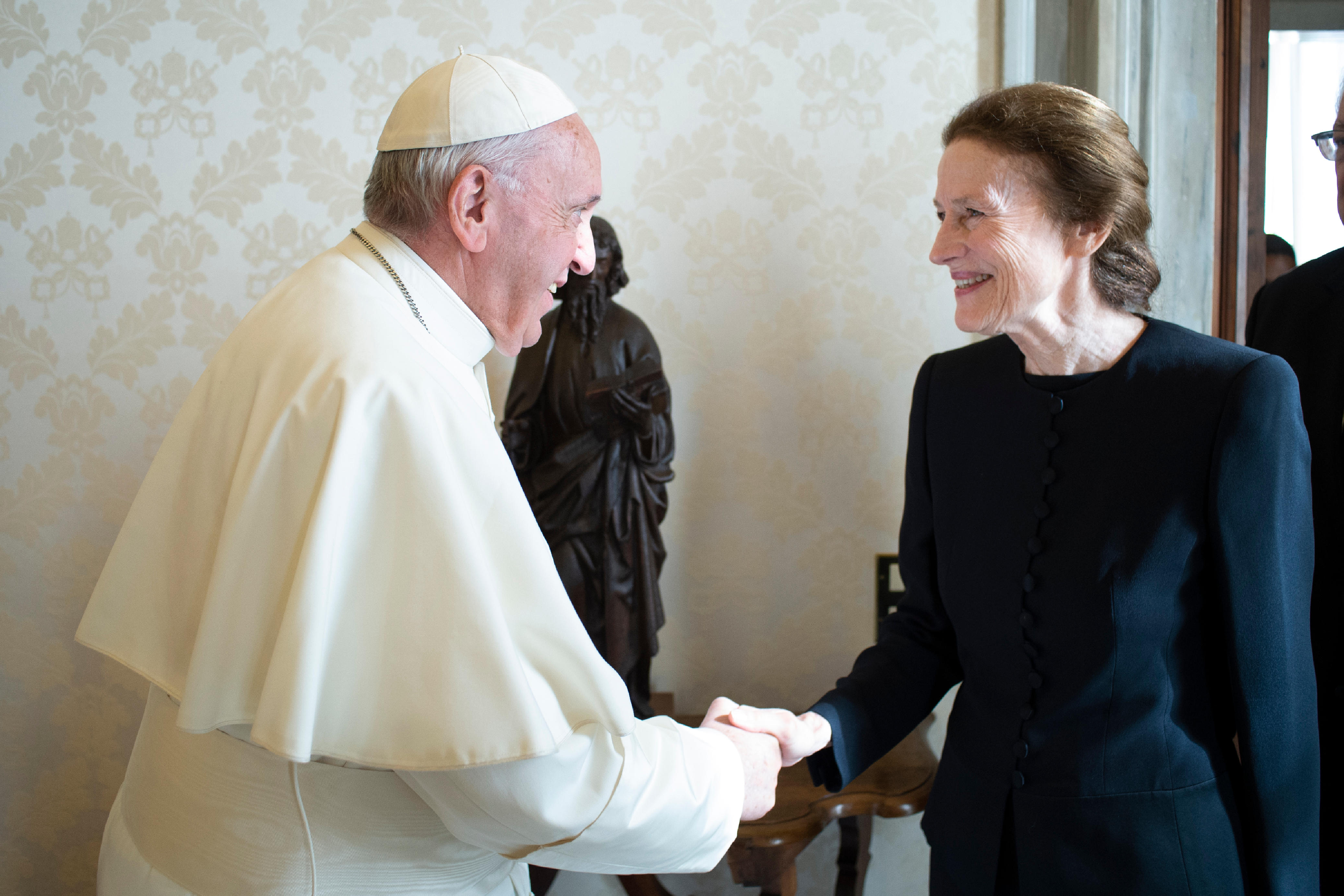 Mme Henrietta H. Fore, UNICEF © Vatican Media