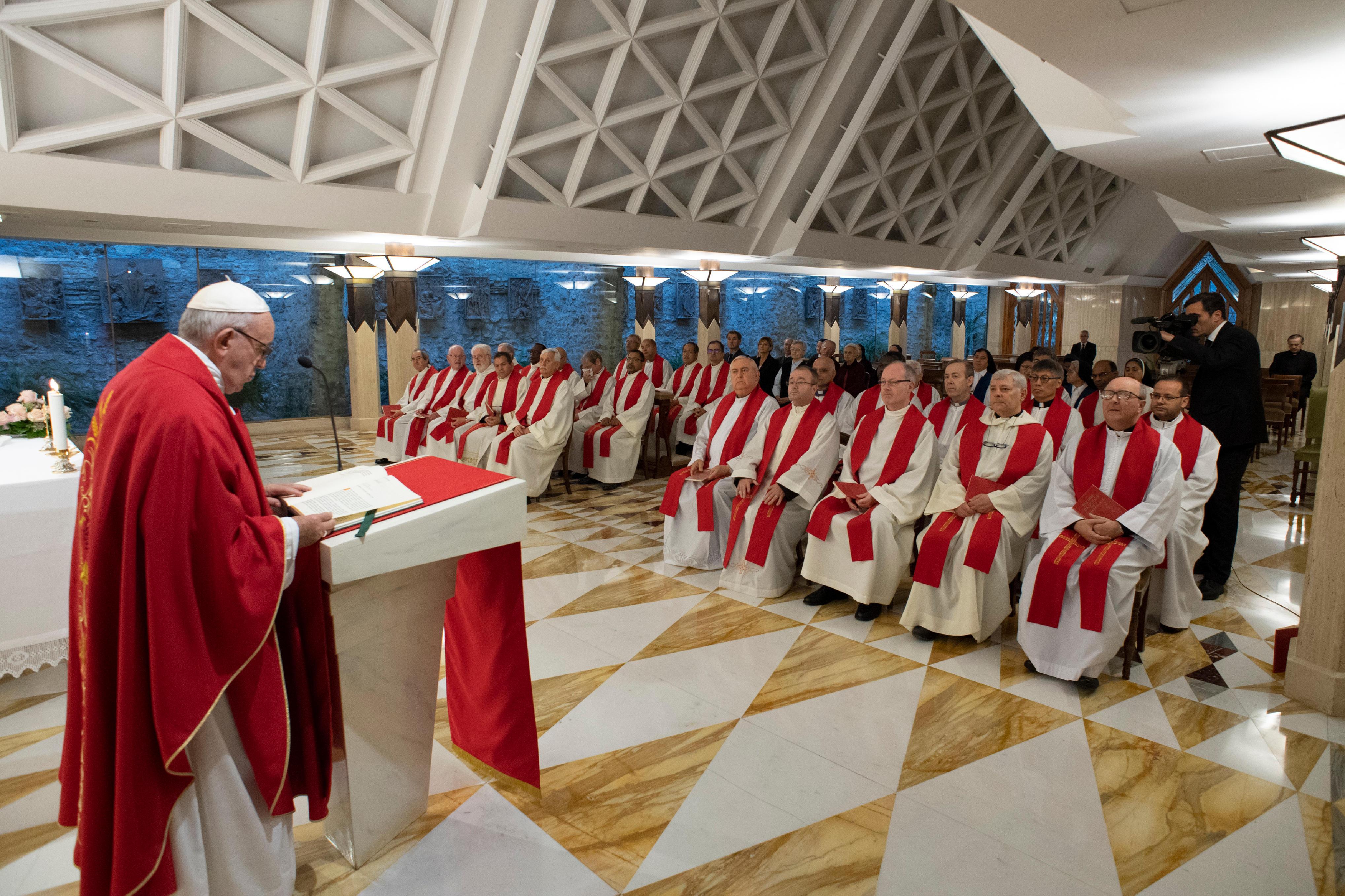 Sainte-Marthe © Vatican Media