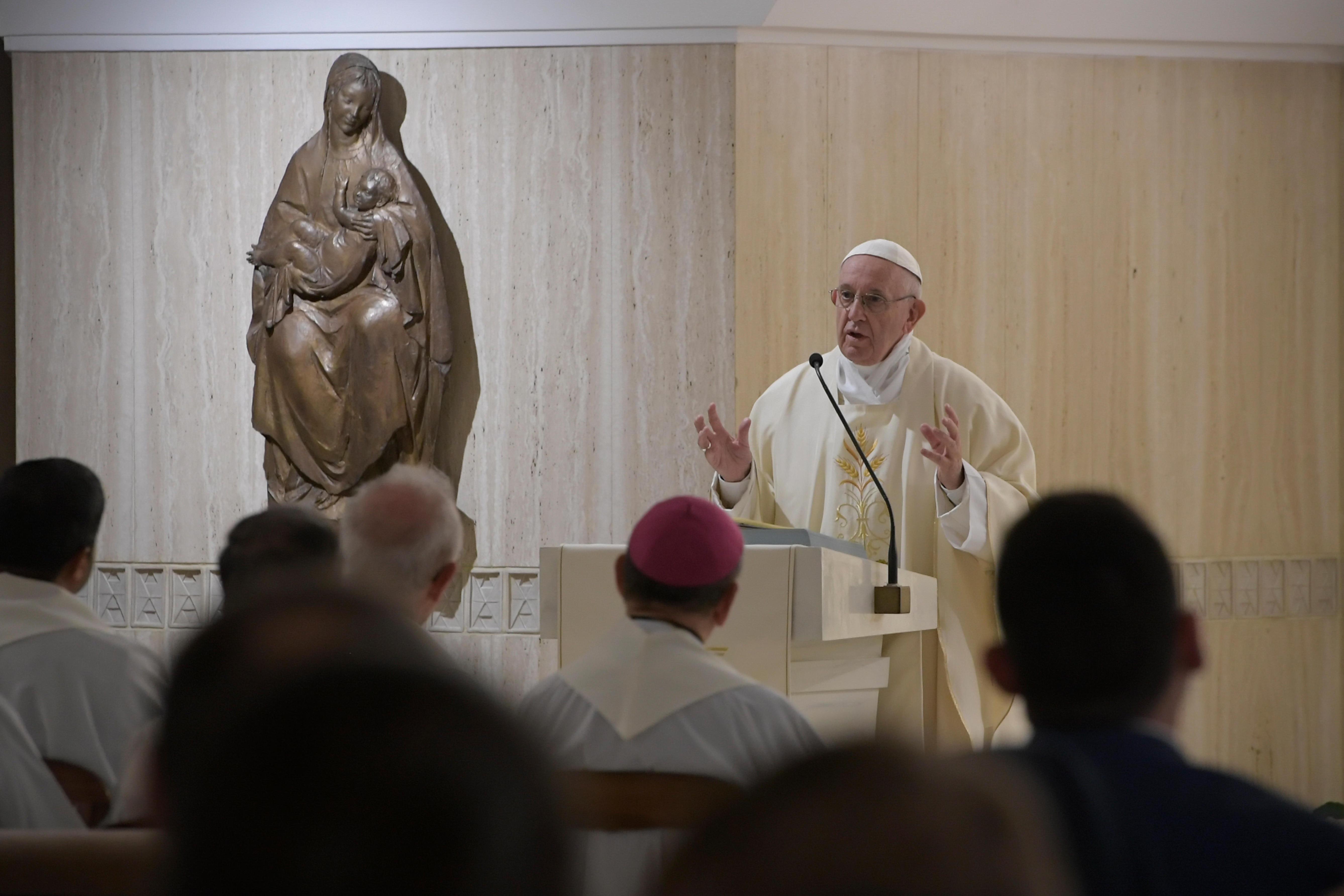 Sainte-Marthe, 26 nov. 2018 © Vatican Media