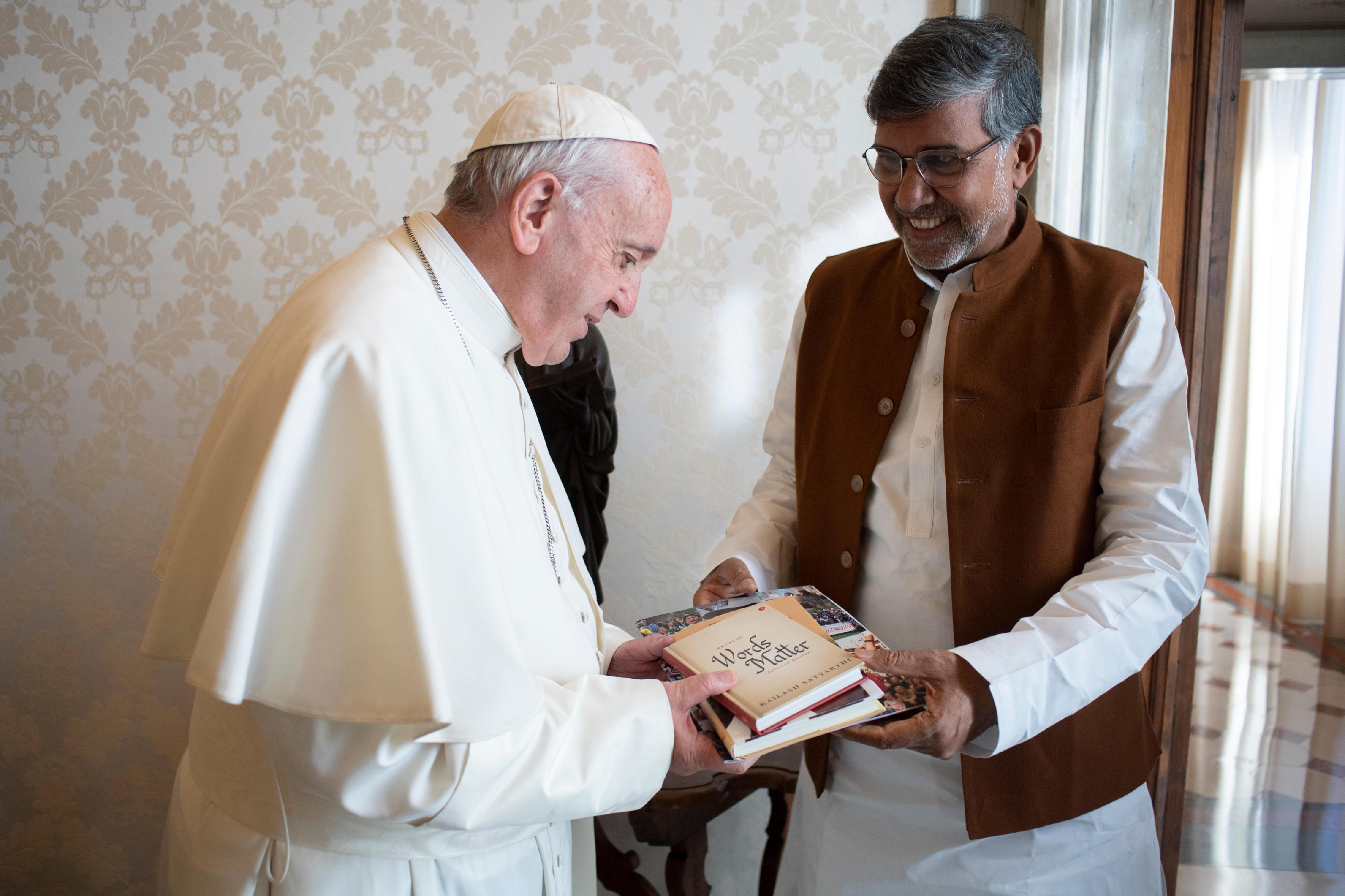 Kailash Satyarthi © Vatican Media