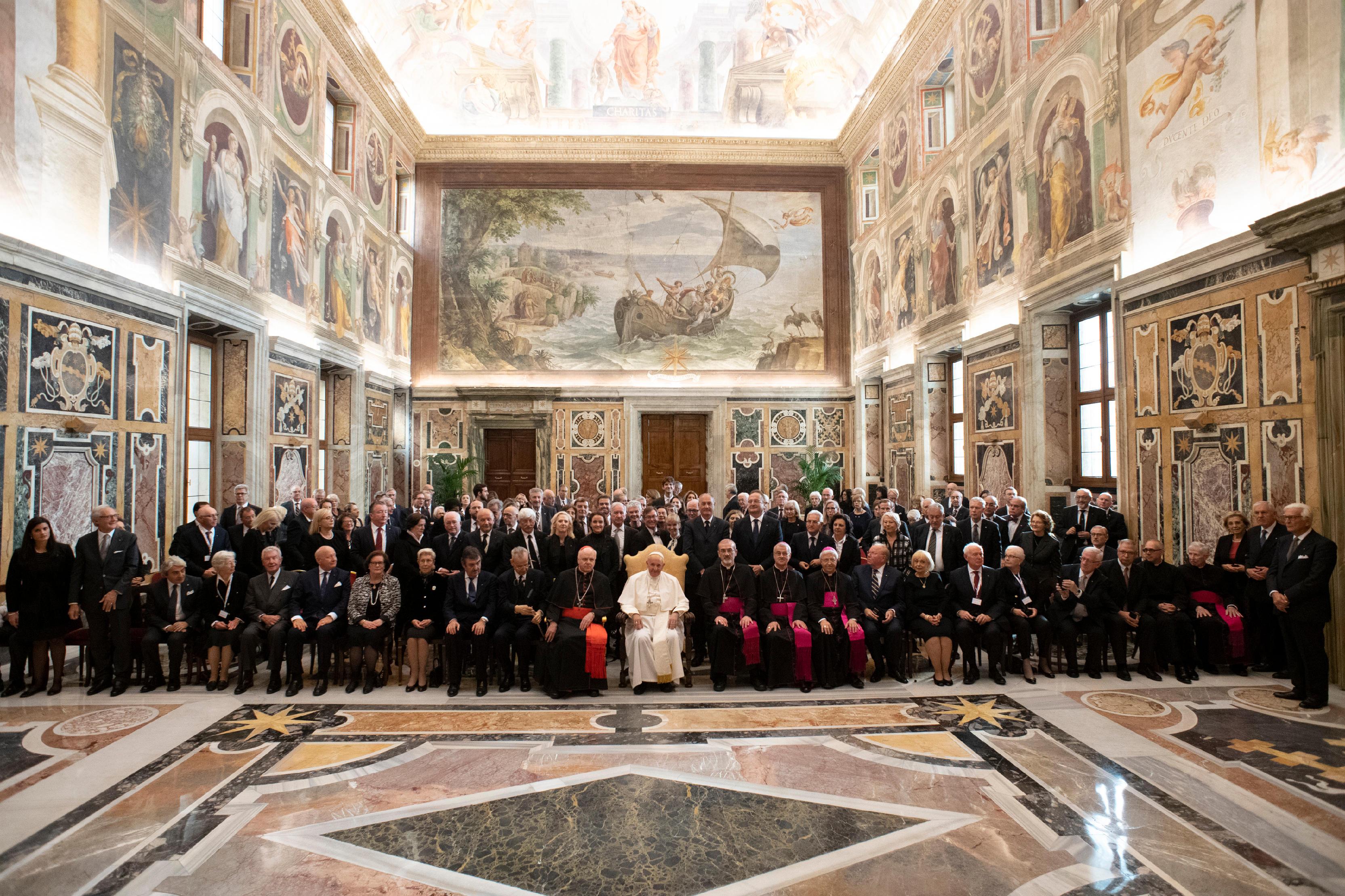 Ordre équestre du Saint-Sépulcre de Jérusalem © Vatican Media