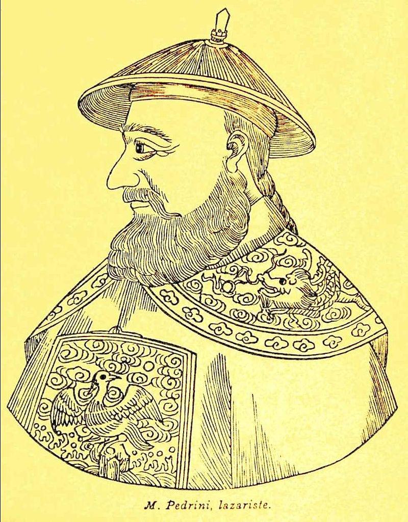Teodorico Pedrini @ wikipedia, DP