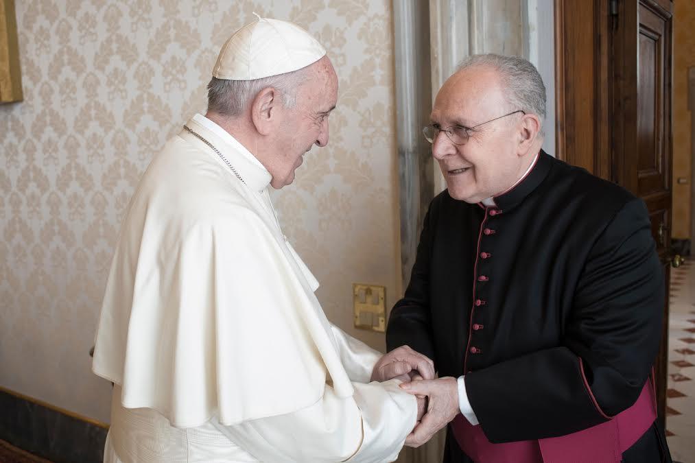 Mgr Francesco Follo, 17 déc. 2018 © Mgr Francesco Follo