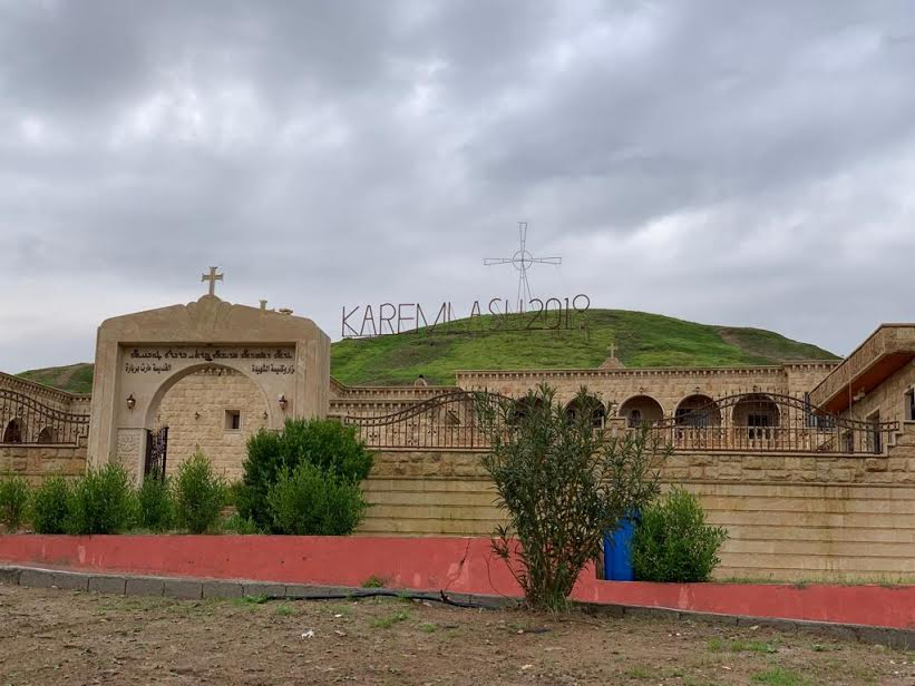 Cathédrale catholique du Kurdistan irakien © Vatican Media