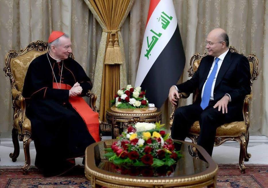 Le card. Parolin en Irak, Noël 2018 © Vatican Media
