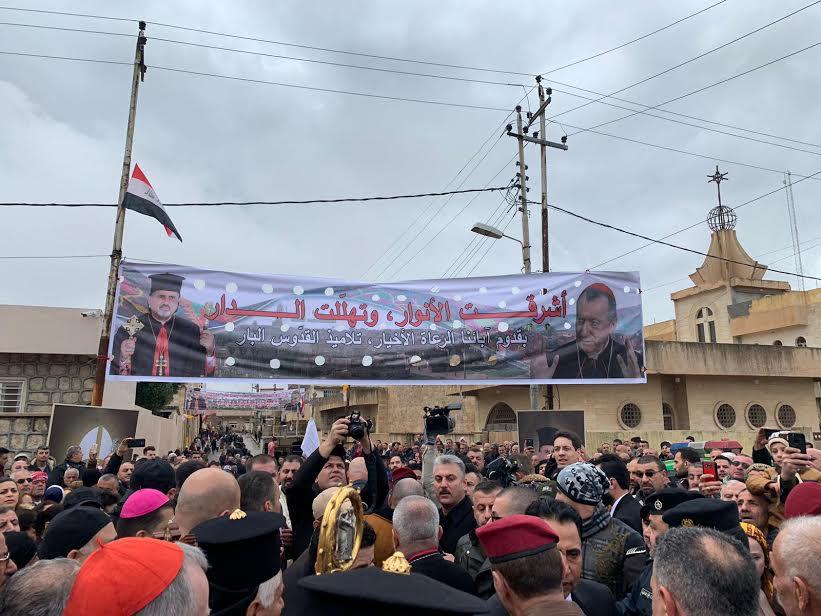 Visite du card. Parolin au Kurdistan irakien © Vatican Media