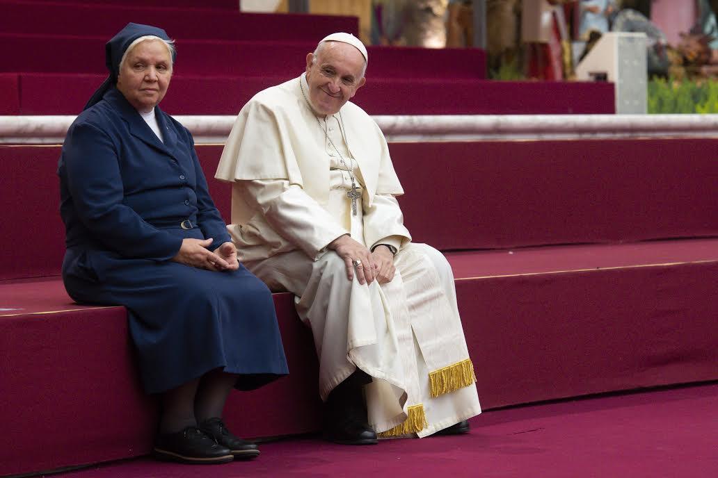Dispensaire Sainte-Marthe, 16 déc. 2018 © Vatican Media