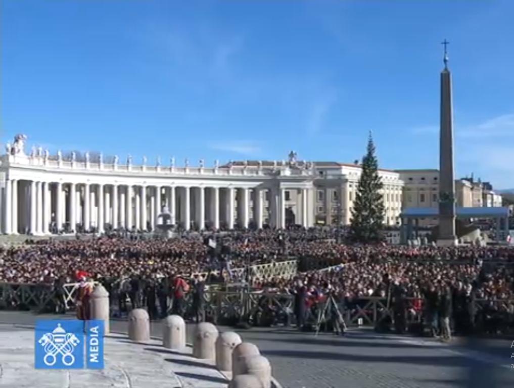 Urbi et Orbi, Noël 2018 @ Vatican Media