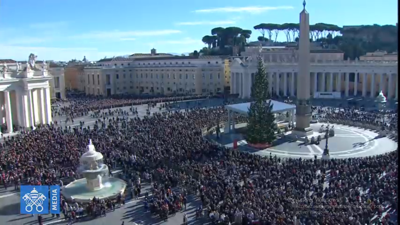 Angélus du 26 déc. 2018 @ Vatican News