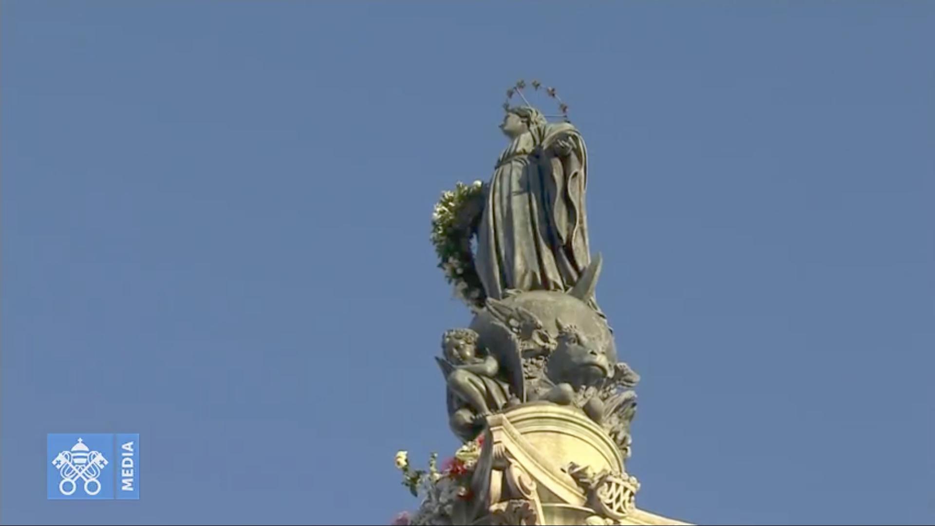 Place d'Espagne @ Vatican Media