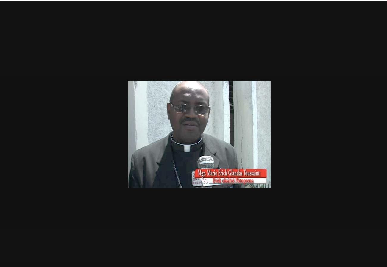 Mgr Glandas Marie Erick Toussaint @ Youtube
