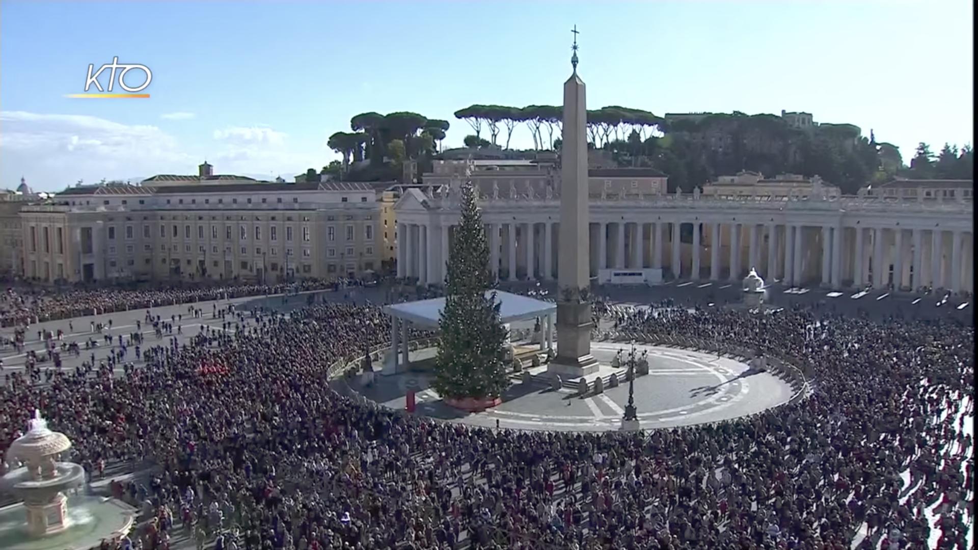 Angélus, 8 déc. 2018 @ Vatican Media