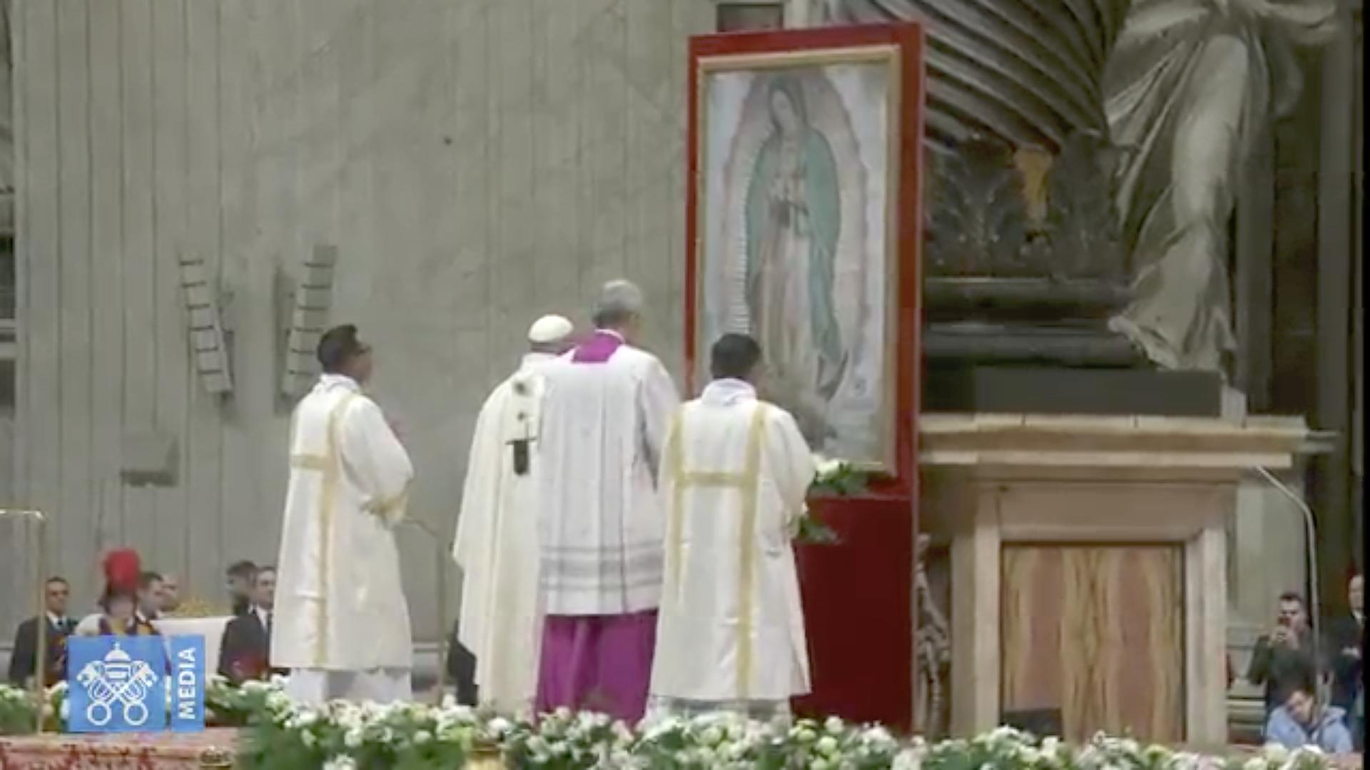 Fête de Notre Dame de Guadalupe 2018 @ Vatican Media
