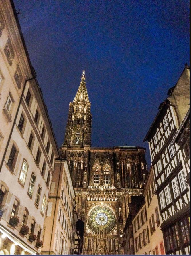 Cathédrale de Strasbourg (France) @wikimedia commons / ALINE COCO 67