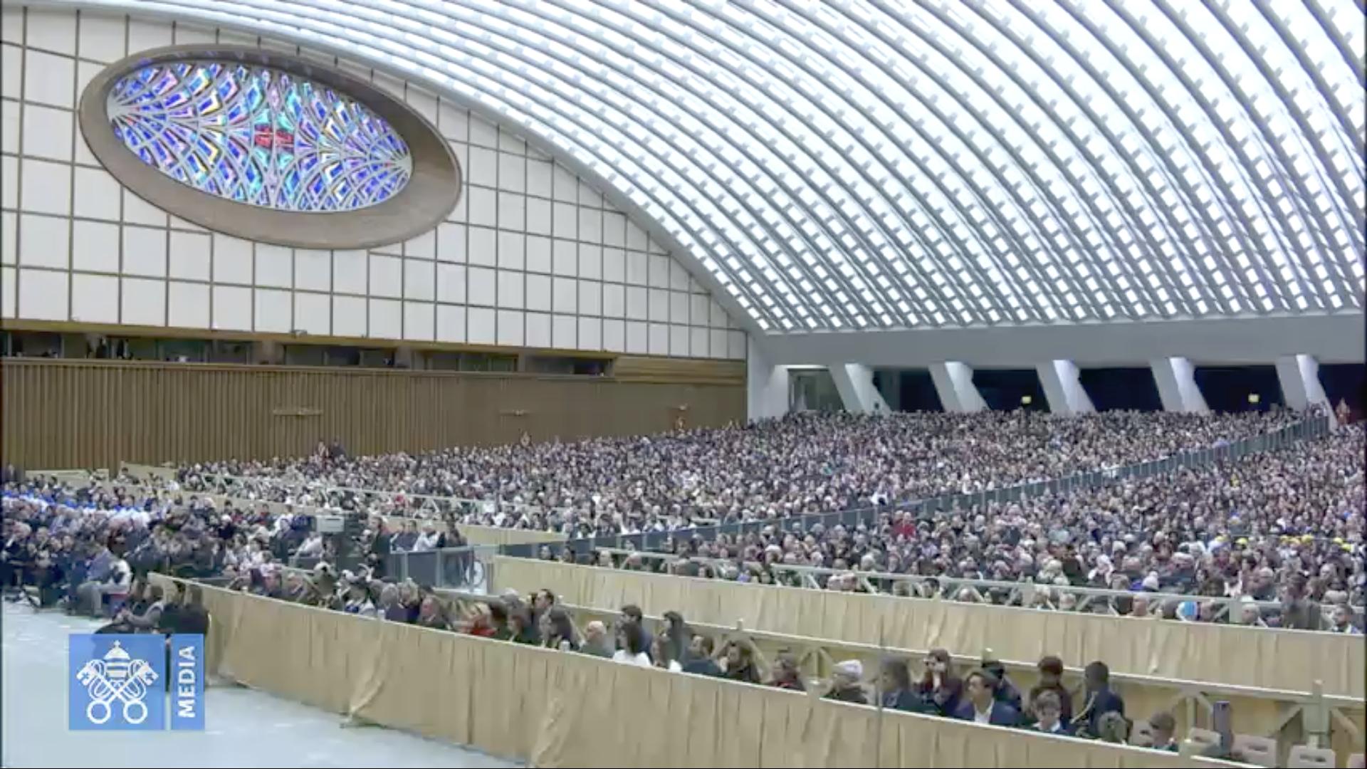 Audience, 19 déc. 2018 @Vatican Media