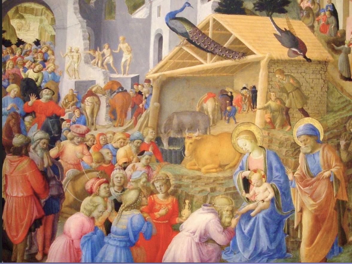Bienheureux Fra Angelico, l'Adoration des Mages @ DR
