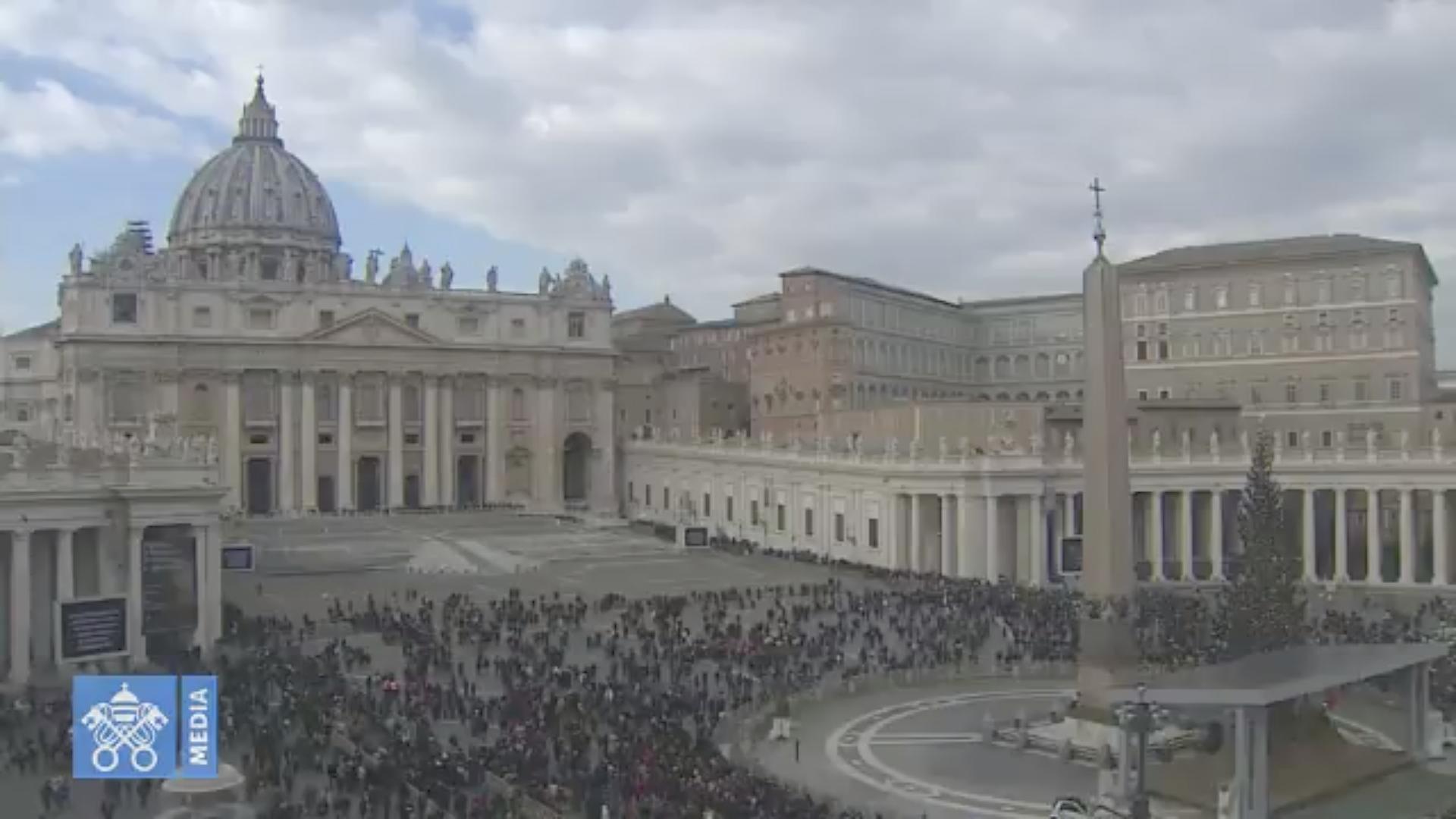 Angélus, 30 déc. 2018 @ Vatican Media