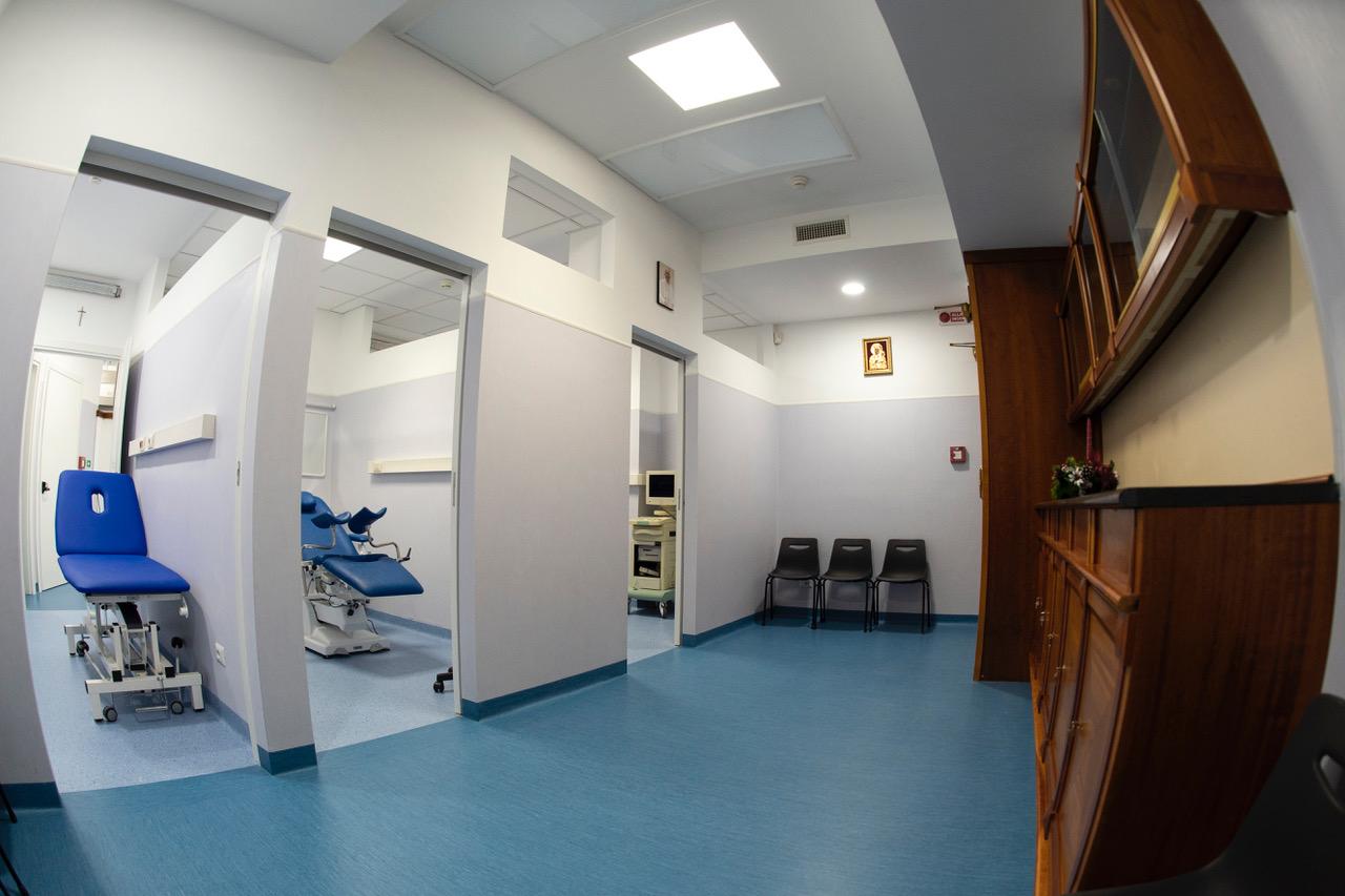 Dispensaire cabinet médical de St Pierre © Vatican Media