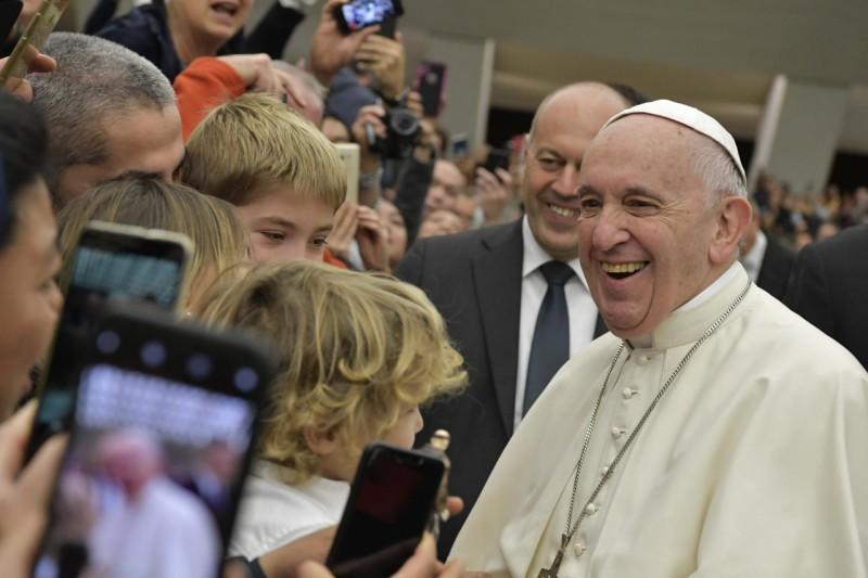 Audience générale du 5 décembre 2018 © Vatican Media