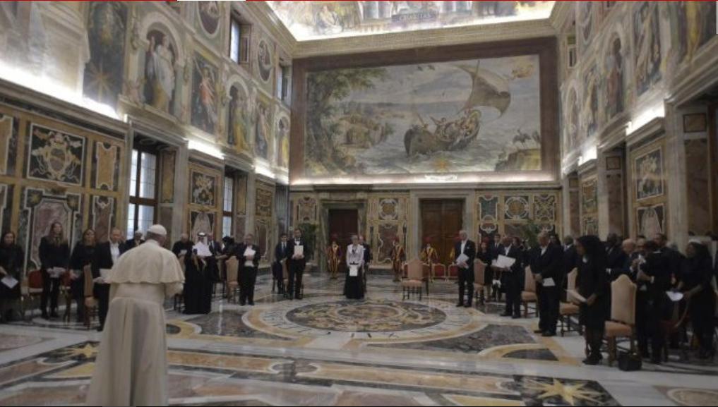 Nouveaux ambassadeurs © Vatican Media