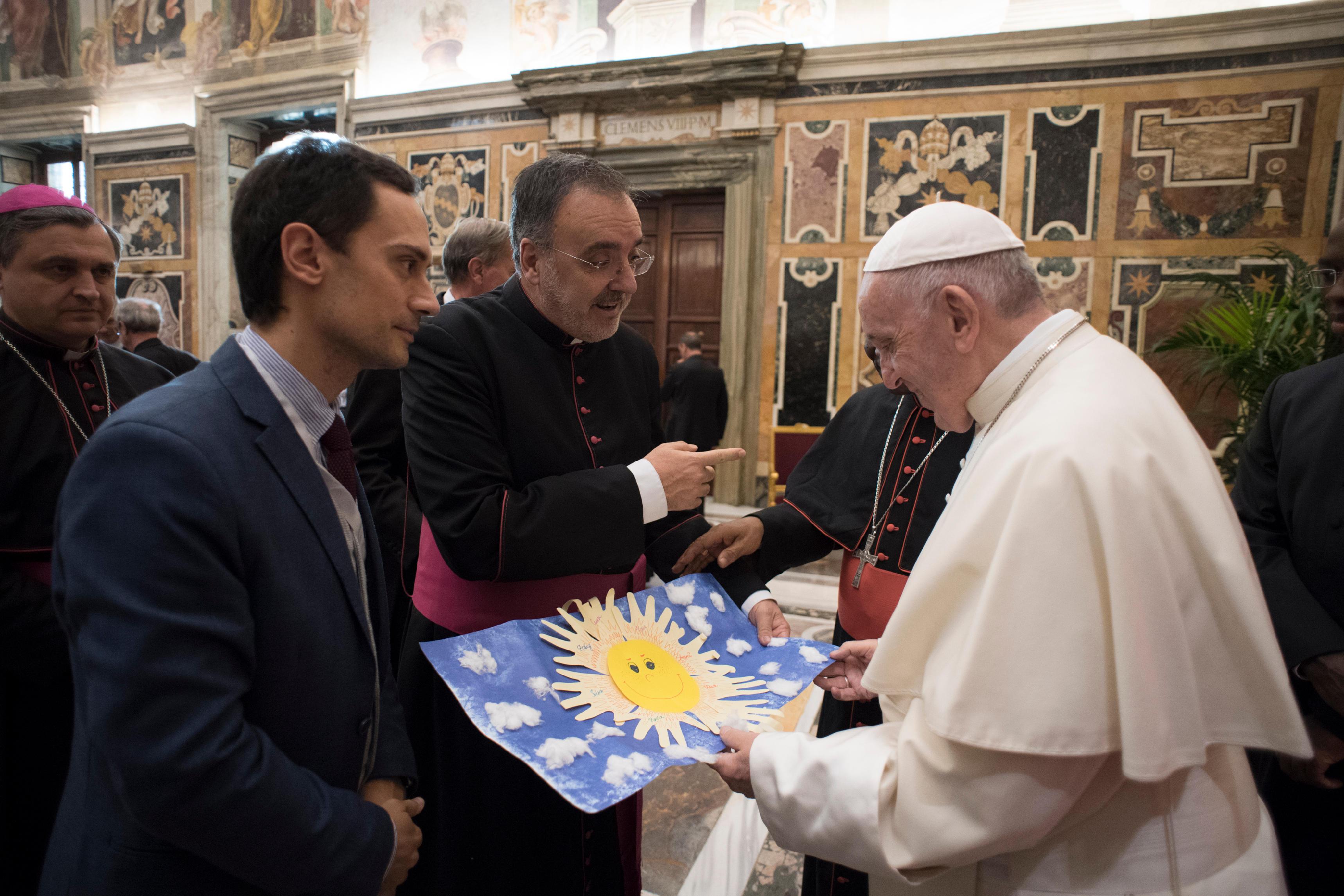 Drogue et dépendances © Vatican Media
