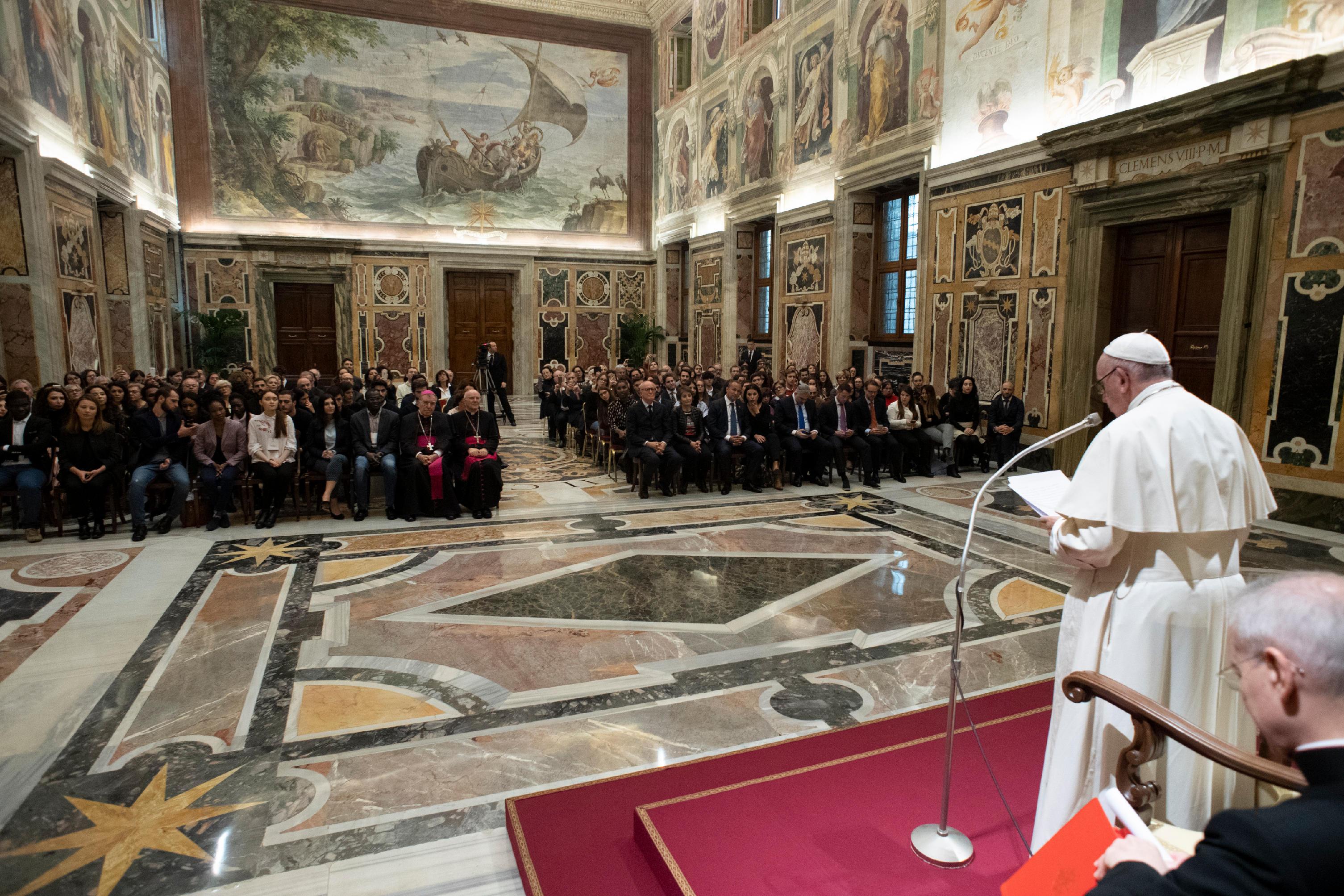 Association Rondine Citadelle de la paix © Vatican Media