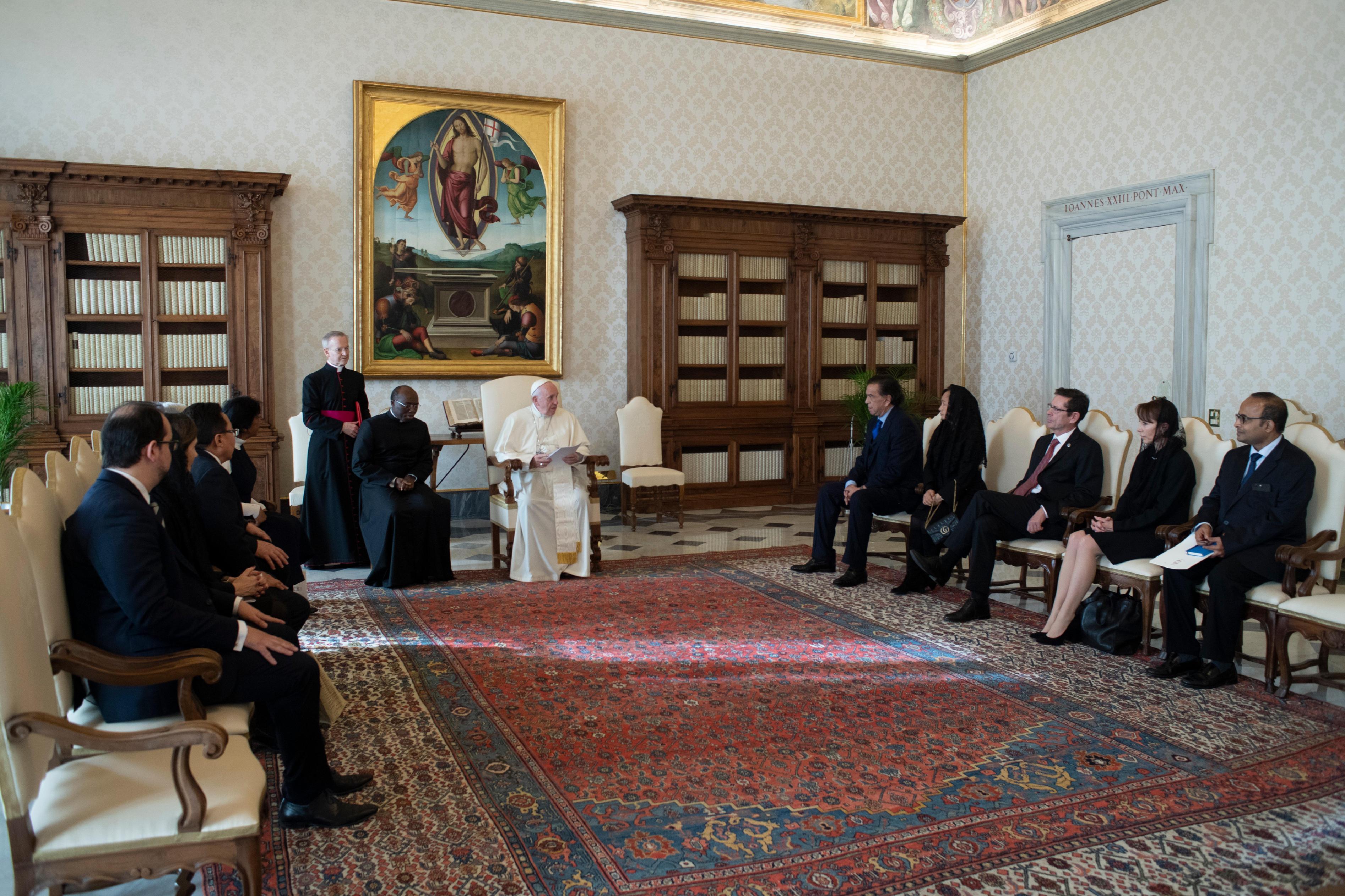 Commission internationale contre la peine de mort © Vatican Media