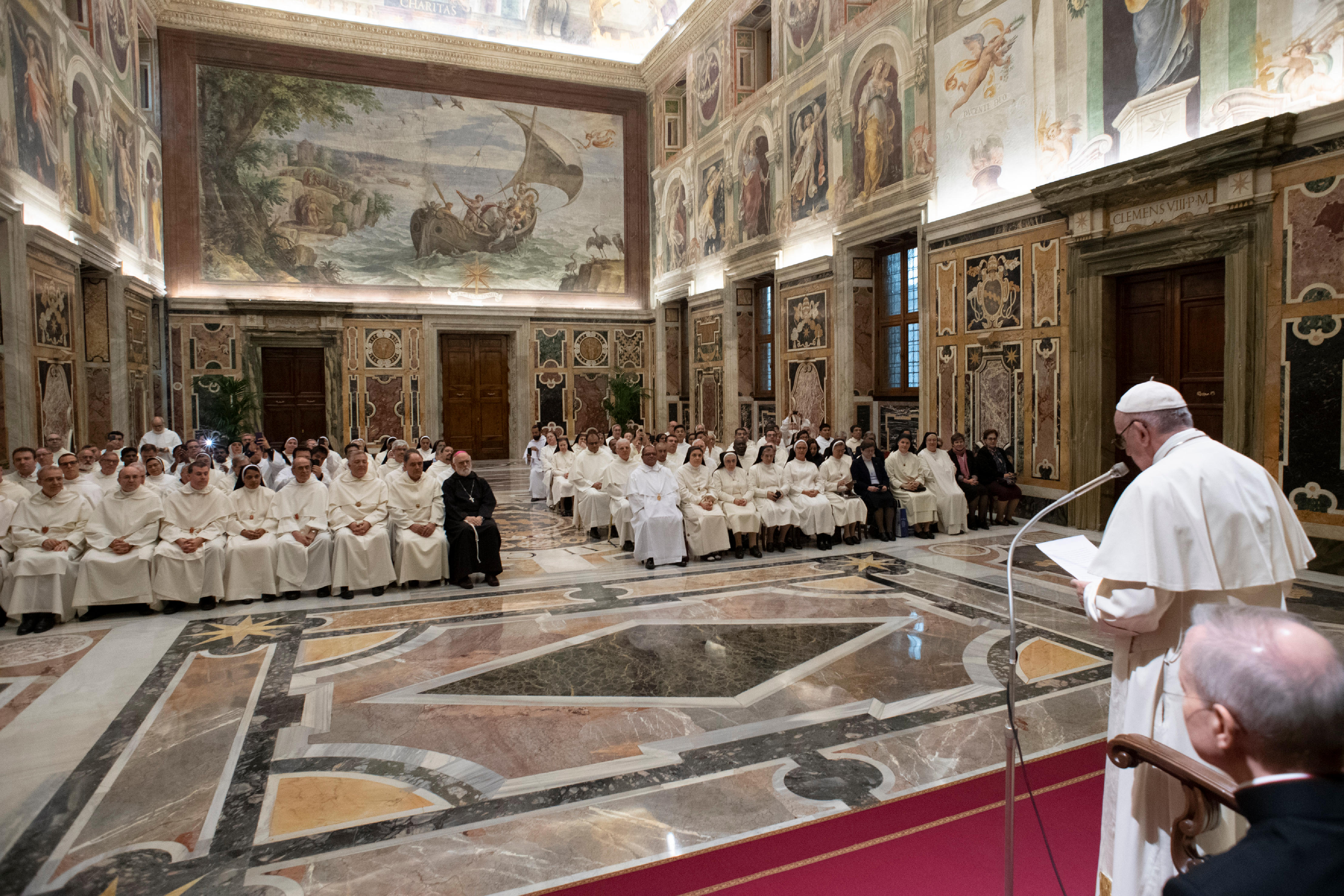 Mercédaires, 6 déc. 2018 © Vatican Media