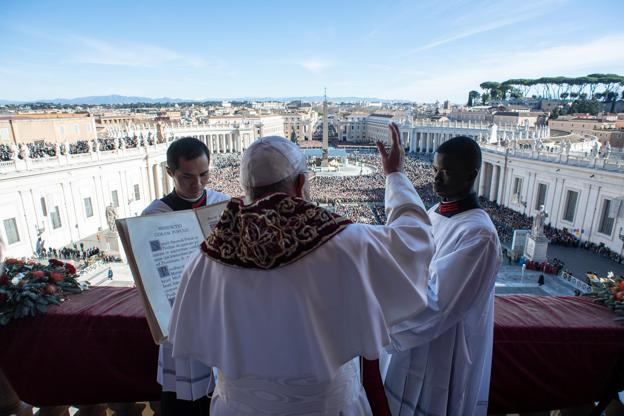 Urbi et Orbi, Noël 2018 © Vatican Media