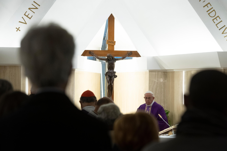 Messe à Ste Marthe, 10 décembre 2018 © Vatican Media