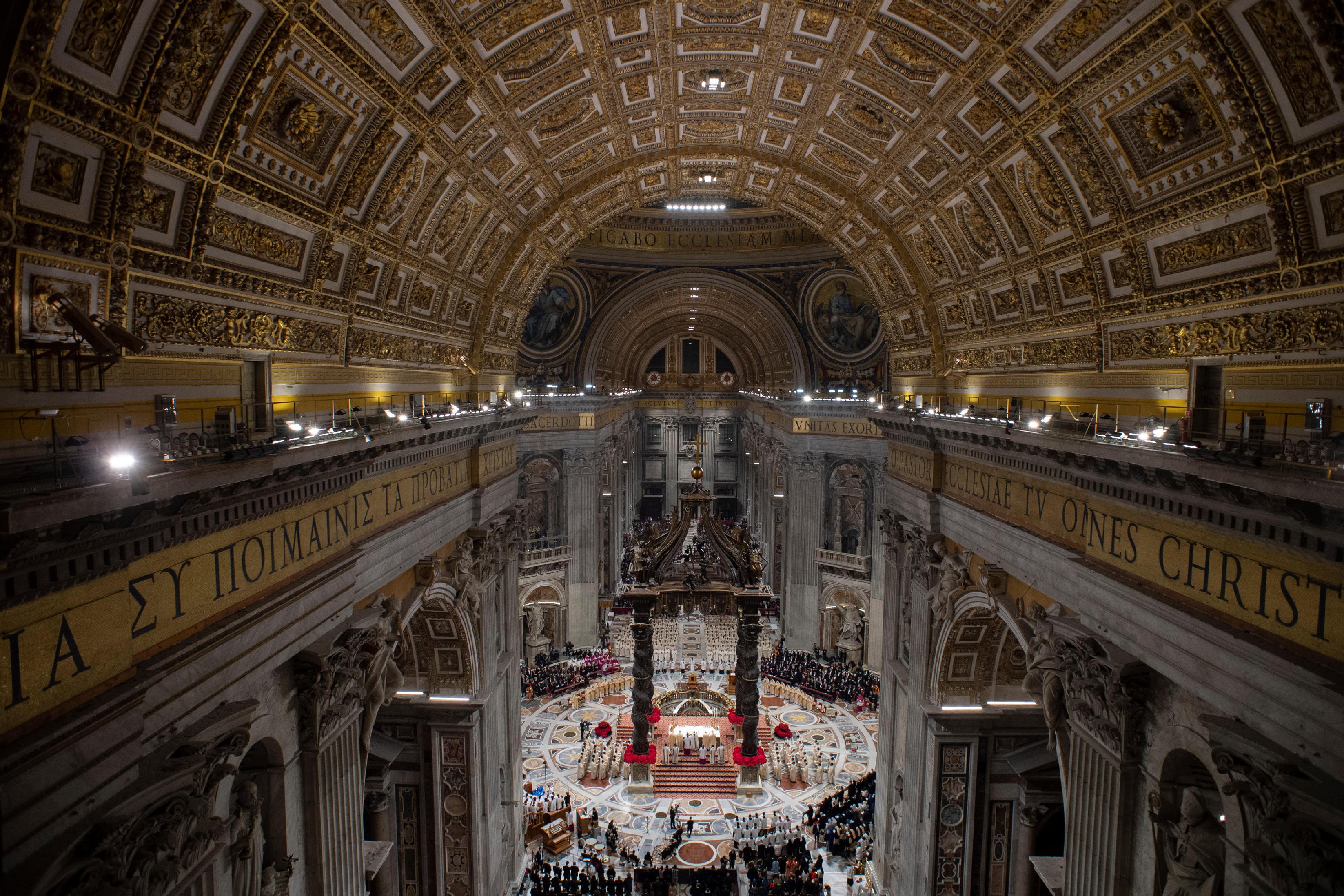 Nuit de Noël 2018 à Saint-Pierre © Vatican Media