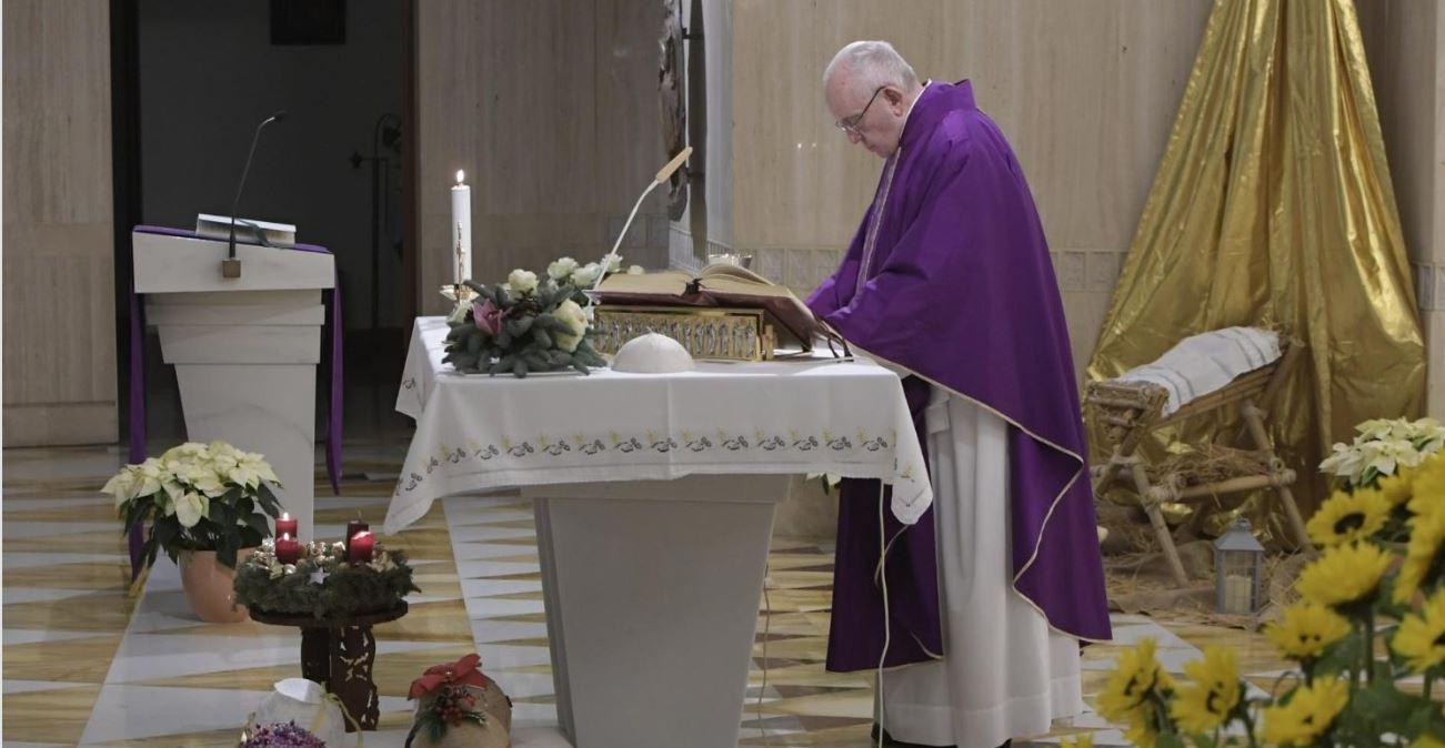 Sainte Marthe © Vatican Media