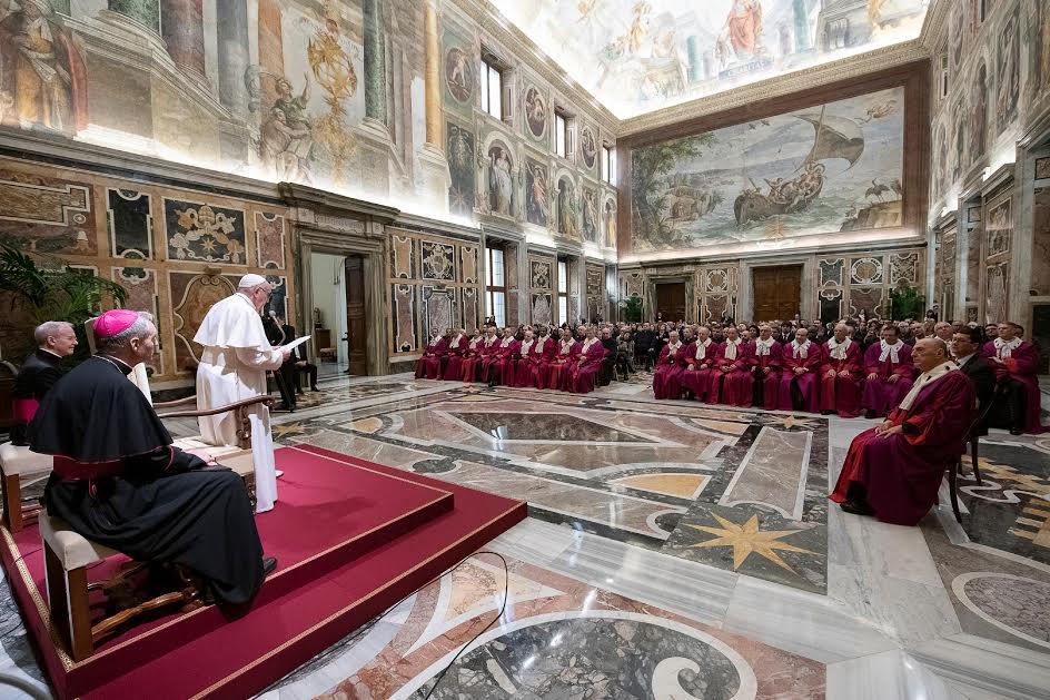 Rote romaine 2019 © Vatican Media