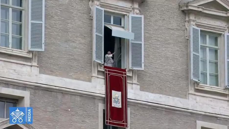 Angélus du 13 janvier 2019, capture Vatican Media