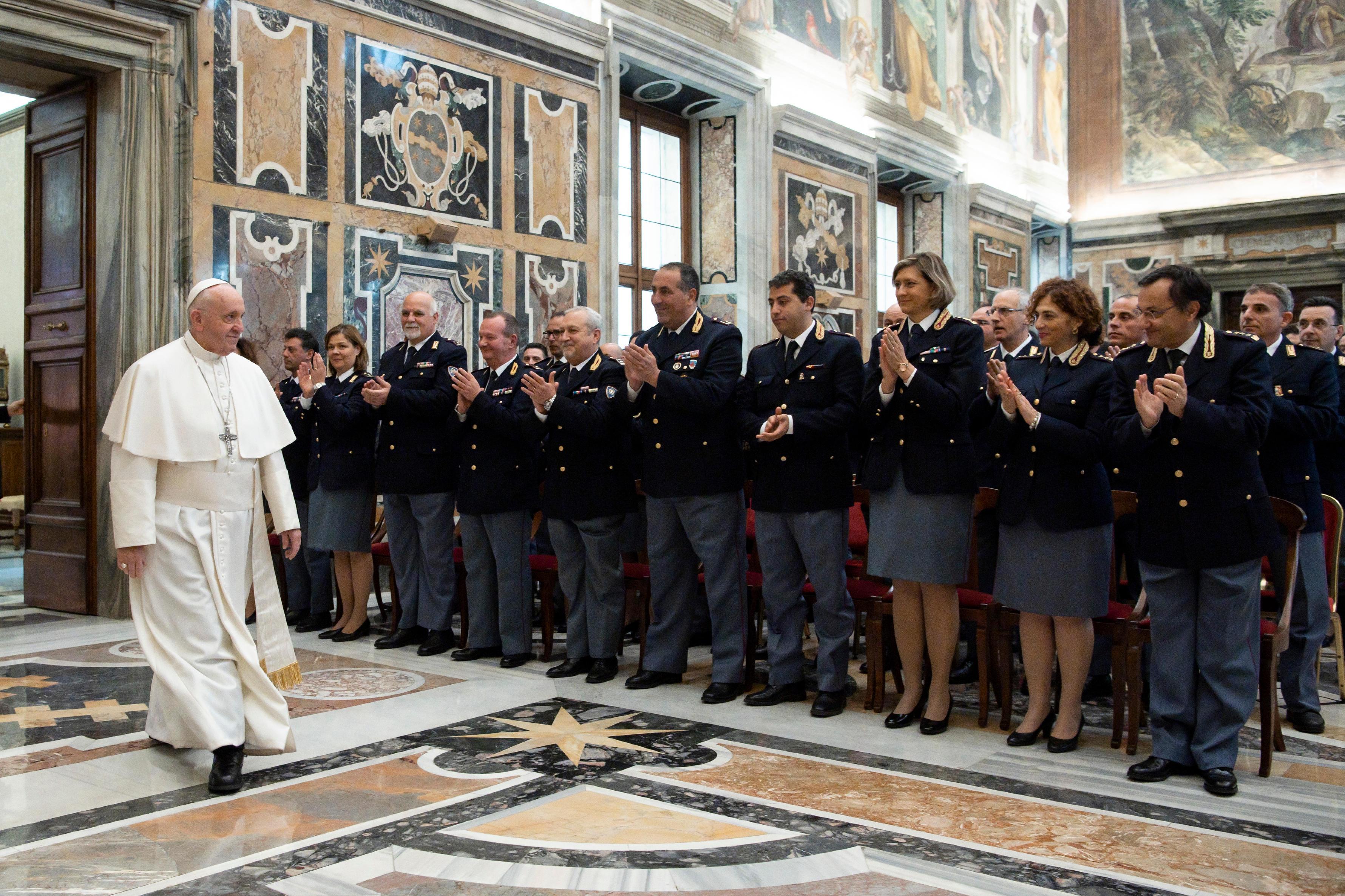 Inspectorat de la Sécurité publique du Vatican © Vatican Media