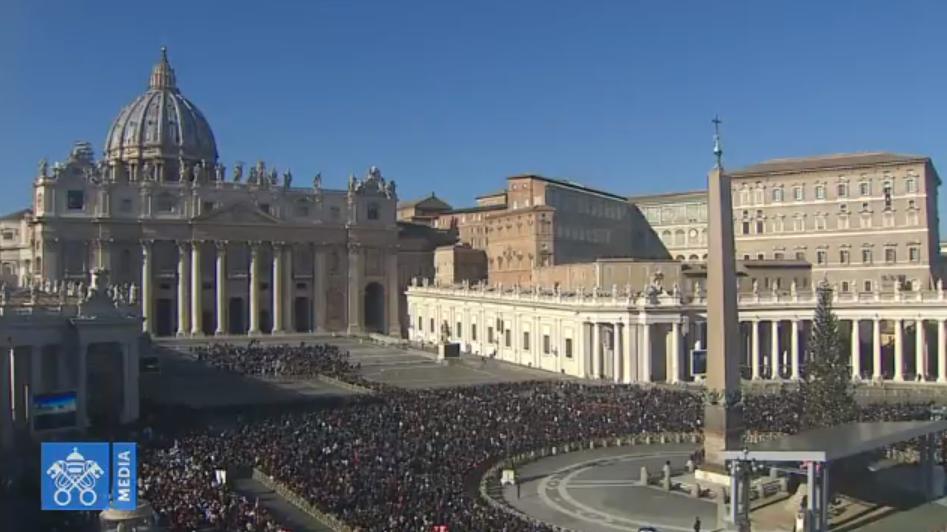 Angélus du 6 janvier 2019, capture Vatican Media